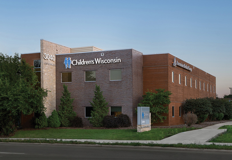 Exterior of Mayfair Primary Care Health Office