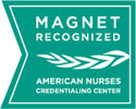 MAGNET RECOGNIZED by the American Nurses Credentialing Center logo