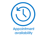 Appointment availability button