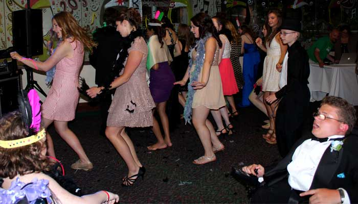 Children Dancing at Prom
