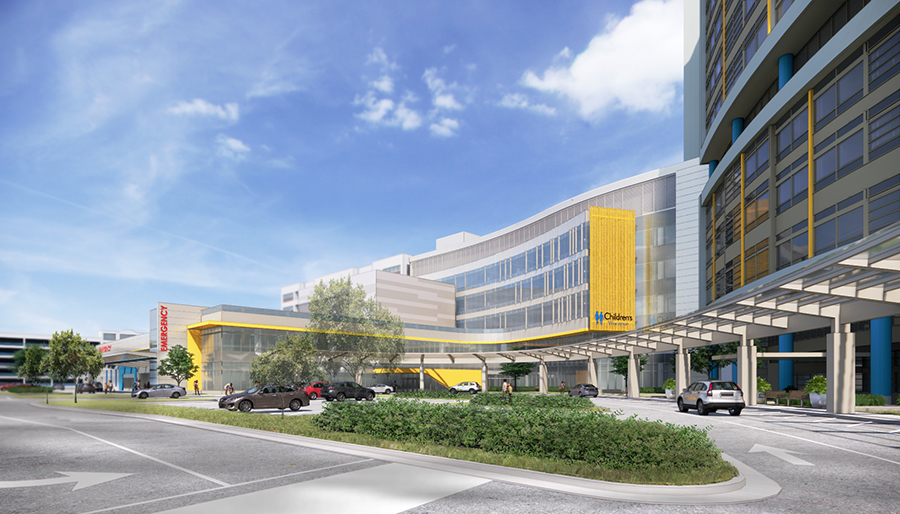 Children's Wisconsin Emergency Department expansion renderings